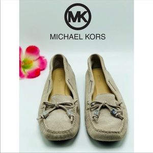 Michael Michael Kors-Sutton Suede leather Moccasin